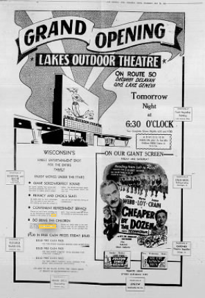 Lakes Outdoor Theatre
