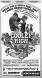 "Thursday June 26, 1975 print ad, ""Cooley High"" World Premiere in Chicago. Via Tim O'Neill."