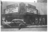 Front of Grand Theater - 1940s or 1950s
