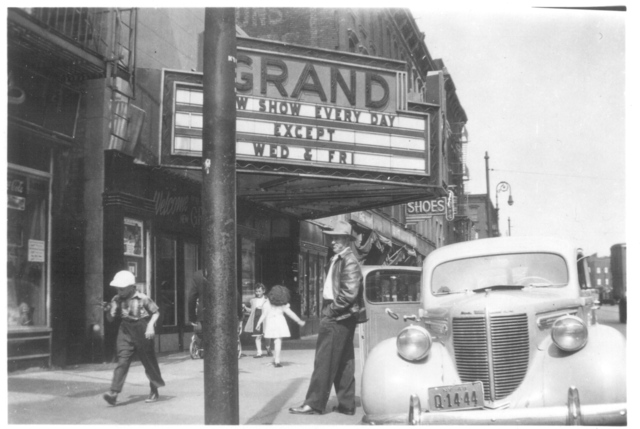 Another street view at Grand Theater