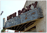 New Roxy© sign..Clarksdale Mississippi