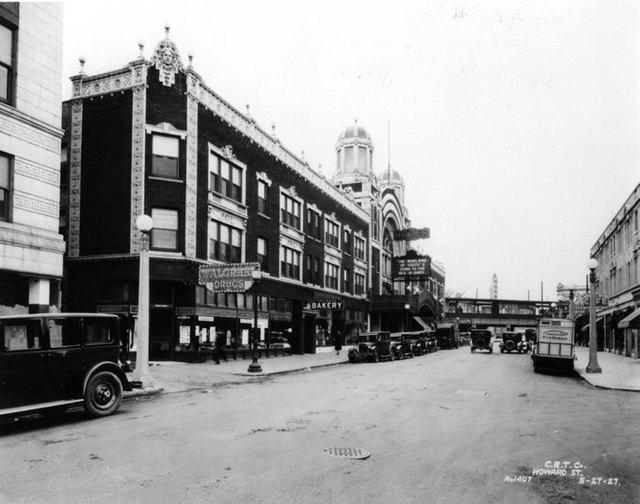 1927 photo courtesy Rogers Park West Ridge Historical Society.