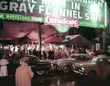 """April 12, 1956, premiere of """"The Man In The Gray Flannel Suit""""."""
