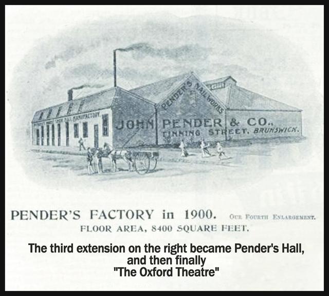 Penders Hall  40 Tinning Street Brunswick VIC 3056