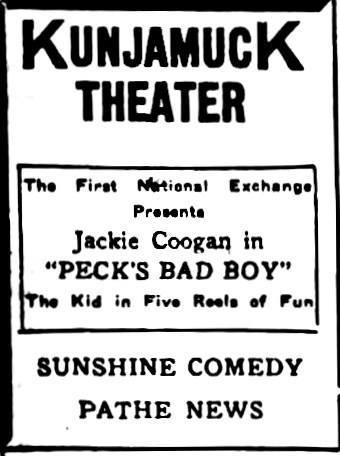1923 print ad courtesy Steve Oare.