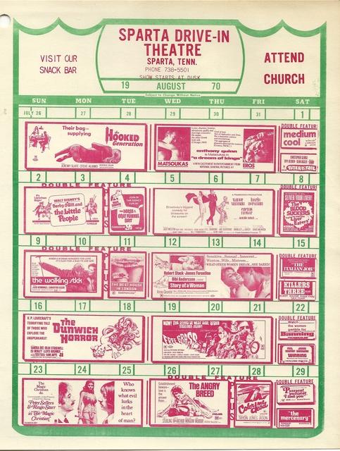 movie schedule