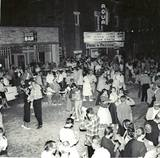 1957 street dance photo courtesy Don Knippel.