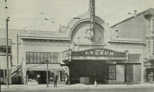 New Lyceum Theatre, 1920
