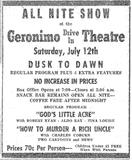 Geronimo Drive-In