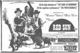 Sydney Cinema Ad, December 1971, Daily Mirror, courtesy Ron Pettersson.
