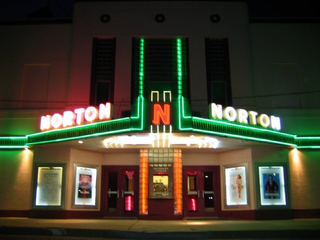 Norton Theater - Neon Lit