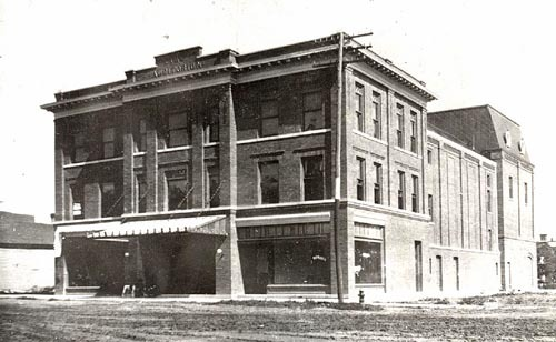 OLD picture of theater when it was the Norton Auditorium