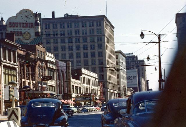 Circa 1953 photo as Strand Theatre courtesy Vince Nicklin.