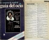 """[""""guia del ocio (Madrid)""""]"""