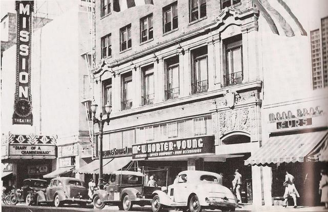 1946 photo courtesy Martin King.