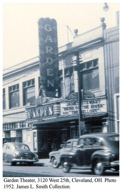 Garden Theater 1952