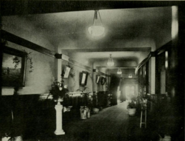Foyer, UC Theatre, 1917