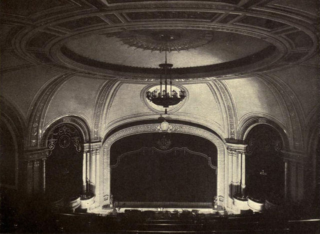 Republic Theatre Auditorium, 1922