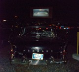 Last night at the drive-in