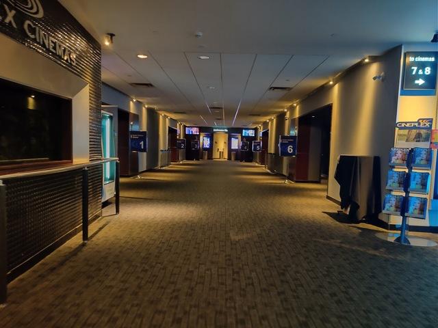 Main Auditorium 1 to 6 lobby