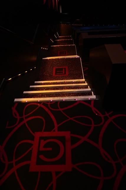 Auditorium #4 row carpeting