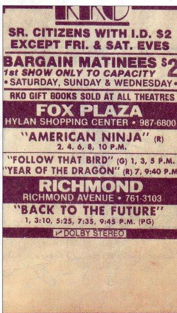 Last Ad - 1985