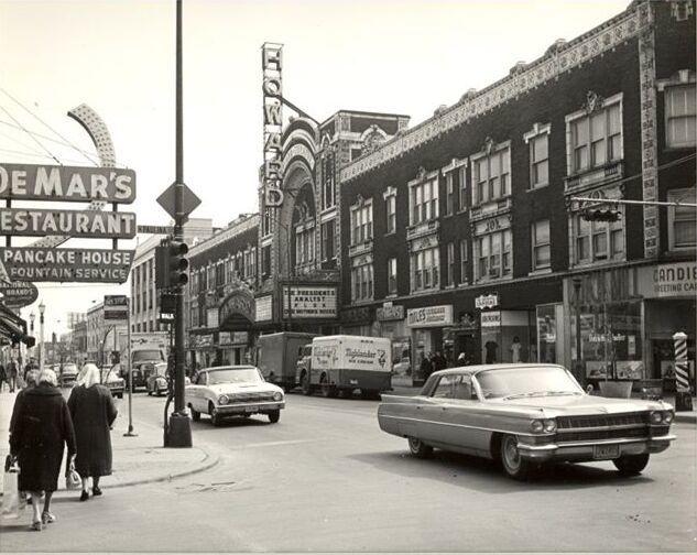 1967 photo courtesy Rogers Park West Ridge Historical Society.
