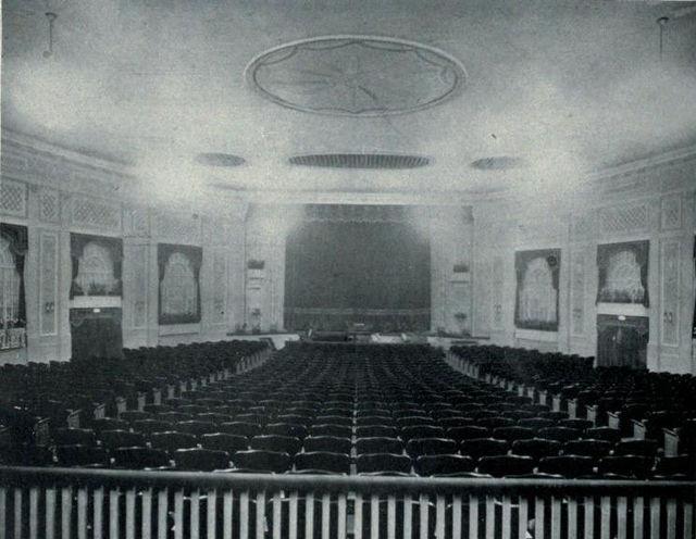 Auditorium, Allen Theatre, Regina, ca.1920