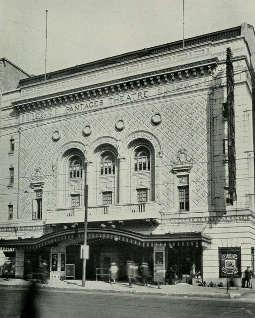 Pantages Theatre, Memphis, ca.1922