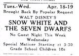 Bar Harbor Times, April 13, 1938 print ad courtesy Willie Granston.