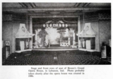 Brown's Grand Opera House, Lebanon, IN, ca.1886