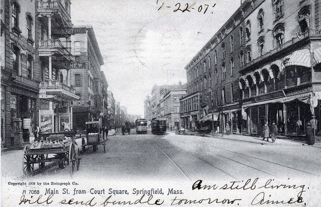 1907 photo courtesy Springfield Preservation Trust collection.