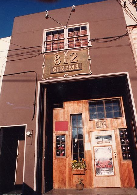 812 Cinema - Cannery Row, Monterey CA 1969-1980