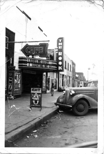 Rook theater Cheyenne Oklahoma.  40's?