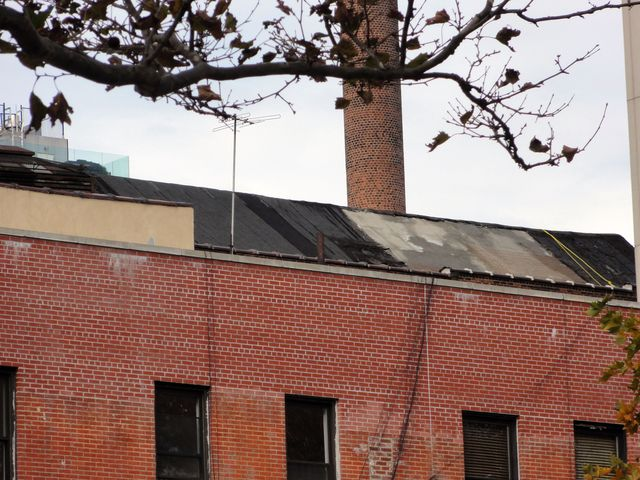 Roof of the Loew's Canal Theatre - 11-13-11