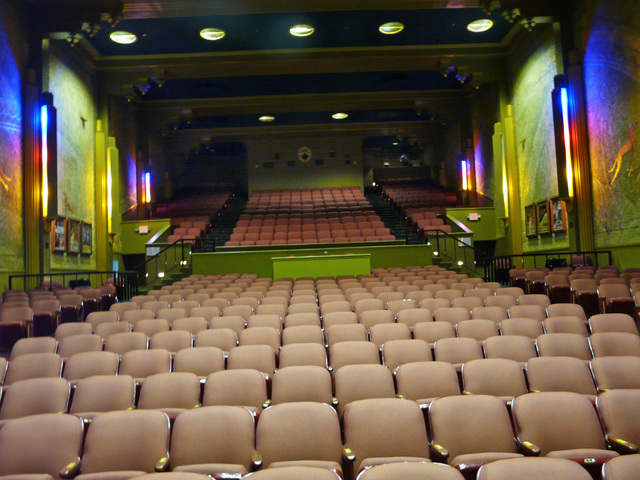 View from front of theatre.  November 2011.