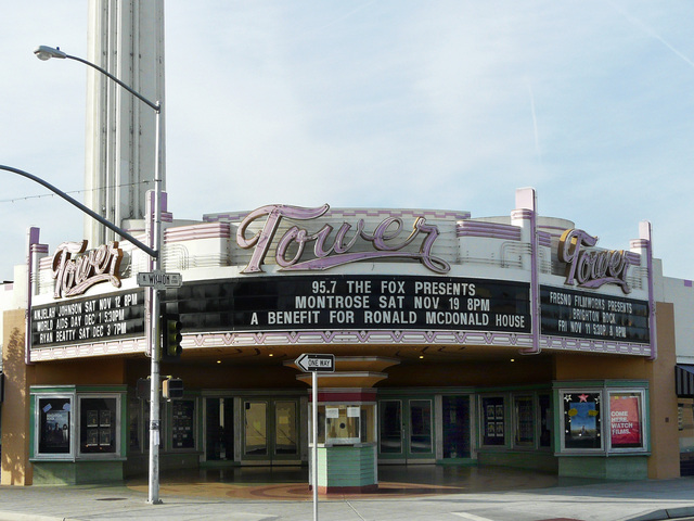 Tower Theatre Fresno, November 2011