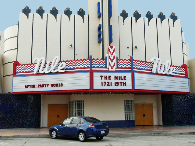 Nile Theatre Bakersfield, November 2011