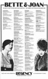 Bette & Joan Festival; 1977