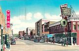 Circa 1940 postcard courtesy Route 66 Postcards Facebook page.