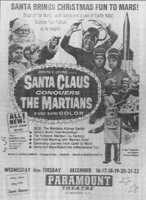 December 1964 print ad courtesy Old Staten Island Facebook page.