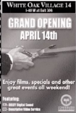 White Oak Stadium 14 Theatres