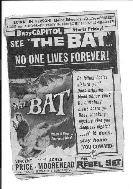 1959 print ad courtesy Larry Kropfreiter.