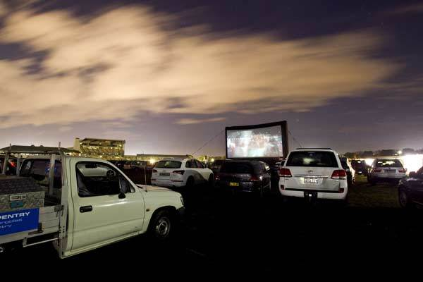 Racecourse Drive-In