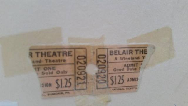 Ticket stubs courtesy Ronni Wolkow Cook.