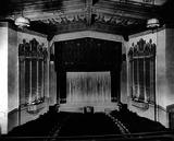 Interior 1925. Photo courtesy Palo Alto Historical Association.