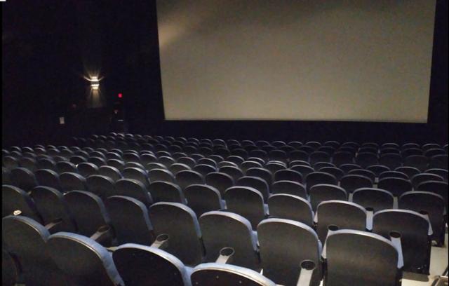 Smaller auditorium