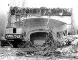 <p>Loew's Dayton, OH during demolition in 1975</p>