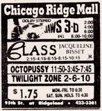 Chicago Ridge Mall Ad