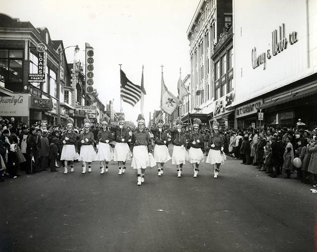 Circa 1958 photo credit Mullen Studios courtesy Fall River Historical Society Collection.